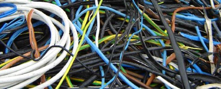 Kabelschrott, Elektroschrott,  Altkabel
